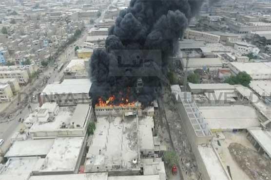 Karachi plastic factory blaze put out after six hours