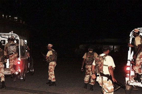 Karachi: Rangers detain 12 suspects in search operation