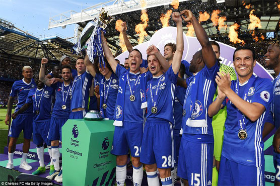 Football: Terry bows out of Stamford Bridge in style