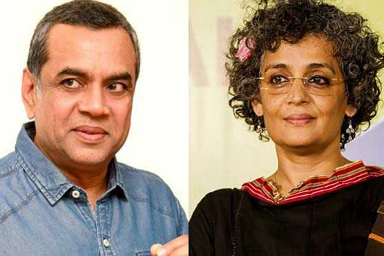 Actor Paresh Rawal's tweet on Arundhati Roy creates tornado