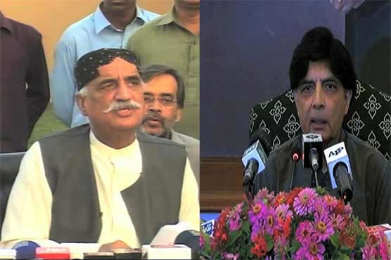 Khurshid Shah should introspect instead of criticising Nisar: spokesperson