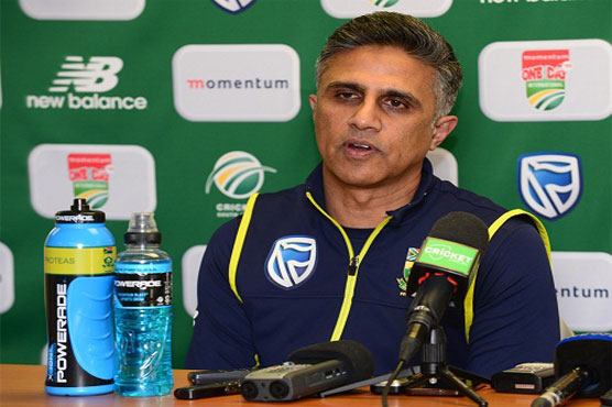 Ton-up Morgan leaves Proteas with stiff chase
