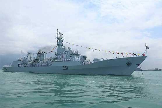 Pakistan Navy ship participates in Singapore event