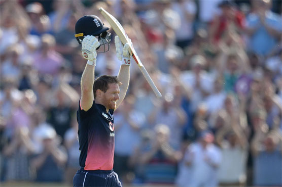 England skipper Morgan's ton helps hosts to 339 versus South Africa