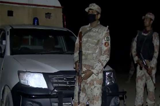 Karachi: Two suspects arrested in Rangers, police operation
