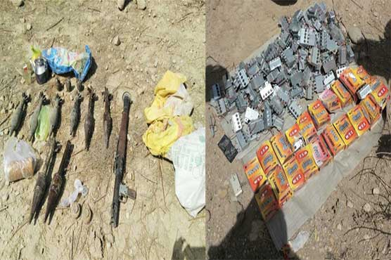Huge cache of arms, ammunitions recovered in Balochistan