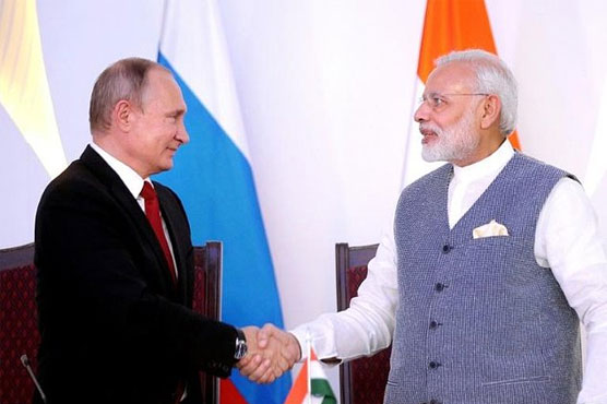 India, Russia are 'natural partners' in fighting terrorism: Modi