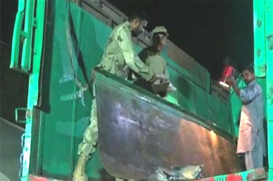 Pakistan Coast Guards foil bid to smuggle narcotics
