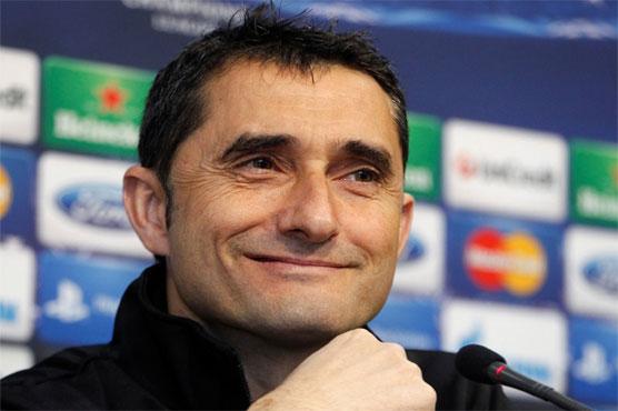 Football: Valverde hired as new Barcelona boss