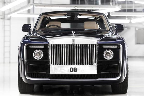 Rolls Royce Sweptail The 12 8 Million Epitome Of Luxury