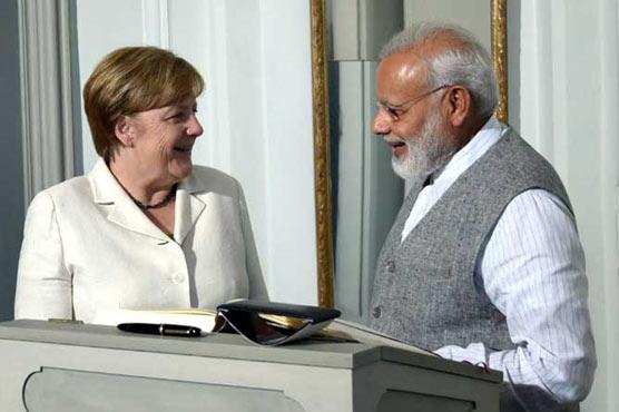 Modi asks Germany to help Indian football ahead of FIFA U-17 World Cup