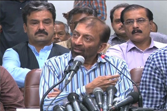 P will not cancel November 5 rally, says Farooq Sattar