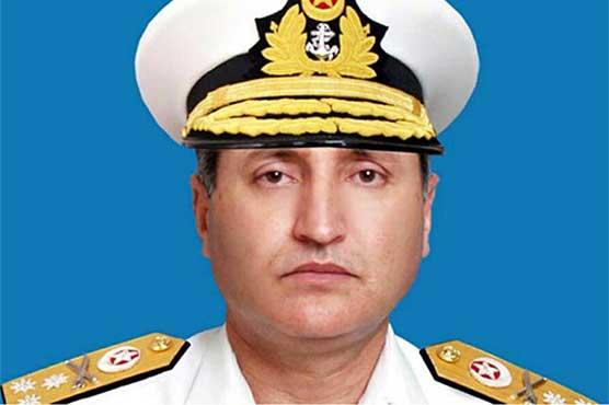 Admiral Zafar Abbasi visits naval installations in Balochistan