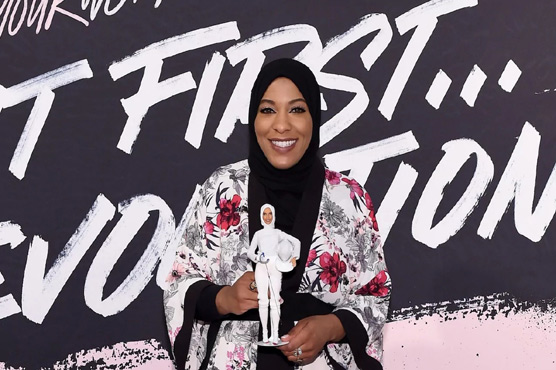 The First-Ever Hijab-Wearing Barbie is Designed After Olympian Ibtihaj Muhammad
