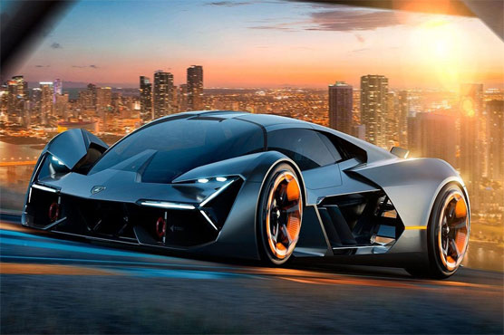Lamborghini Unveils World S First Self Healing Electric Sports Car