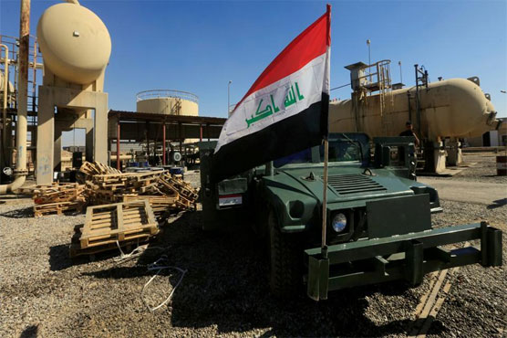 Iraqi forces retake the country's last IS-held town