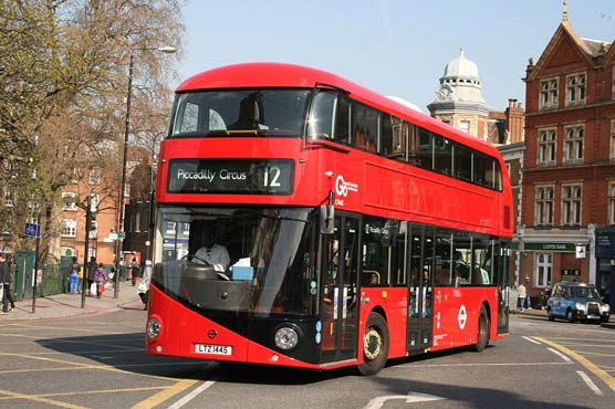 Biofuel containing part of coffee oil is being added to the London bus fuel supply chain