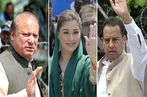 Nawaz Sharif complains about double standards of judiciary again