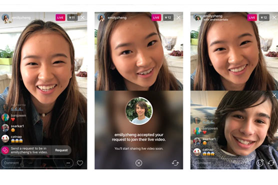 Instagram adds 'Request' button so you can join a friend's live video