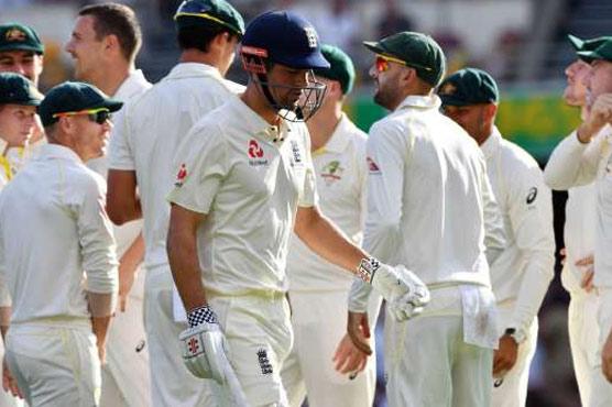 Smith, Hazlewood help England crack in Ashes battle