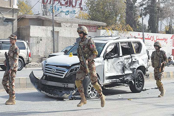 Bomb blast kills four, injures 19 in Quetta