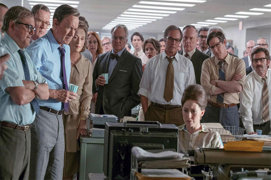 National Board of Review honors 'The Post,' Hanks, Streep
