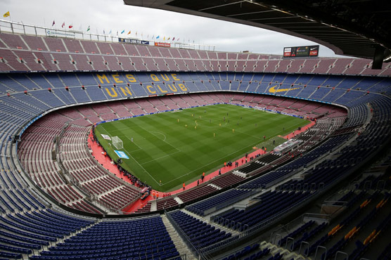 Barca match played behind closed doors