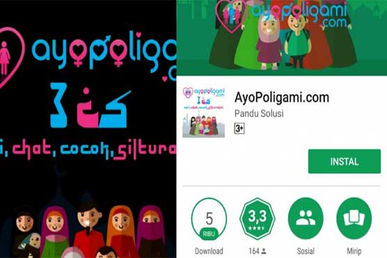 Image result for Polygamy dating app draws criticism in Indonesia