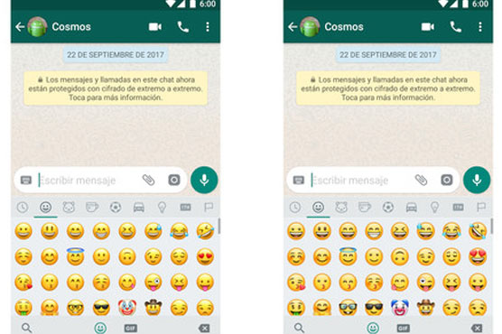 WhatsApp has today unveiled its own emoji set for the first time