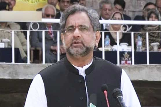 PM Abbasi pledges to continue promoting democratic values in Pakistan