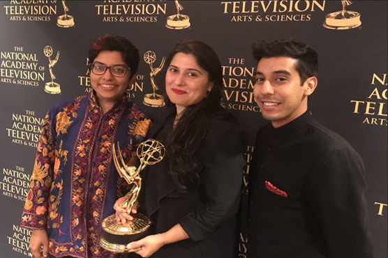 Sharmeen Obaid Chinoy wins Emmy award