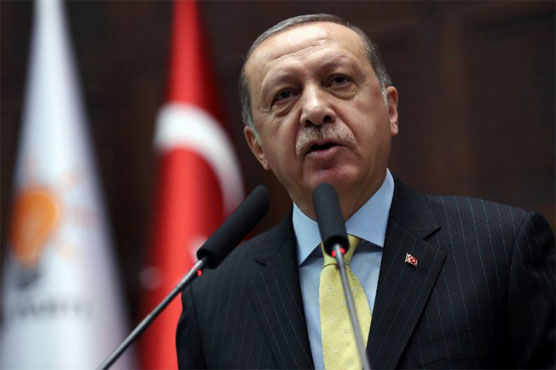 Erdogan blames U.S.  for initiating visa row with Turkey