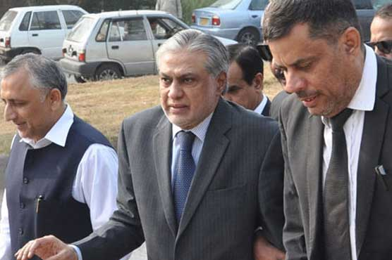Accountability court adjourns graft case against Ishaq Dar till Oct 18