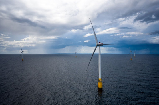 World's first floating windfarm opens off Scottish coast
