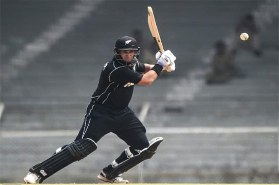 Tom Latham and Ross Taylor score tons in warm-up
