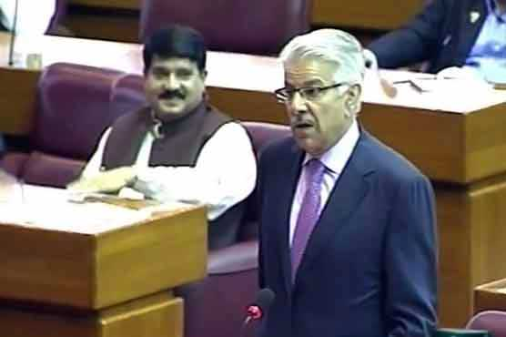 N has no dependence on USA  to govern Pakistan: Khawaja Asif