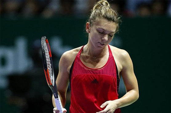 Tennis Top Ranked Halep Crashes Out Of Wta Finals Sports Dunya News