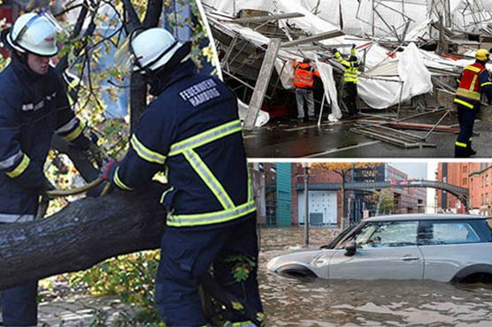 Storm Hits Germany Causing Transport Difficulties Across Country