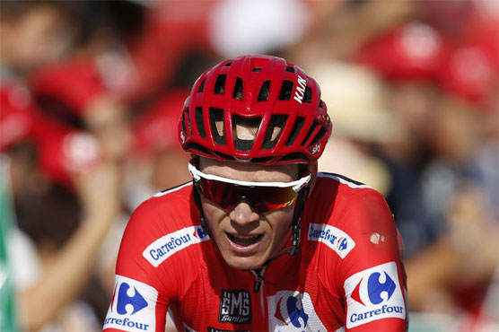 Chris Froome puts hard day at La Vuelta behind him
