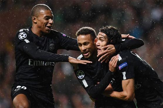 Football MCN Lead Five Star PSG Past Hapless Celtic