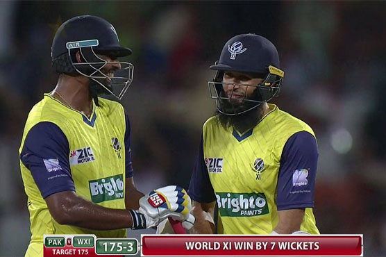 Image result for Pakistan vs World XI: South Africa defeated Pakistan by 7 wickets in T20 international