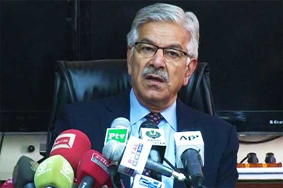 United States has a nexus with India and Afghanistan, says Pakistan's defence minister