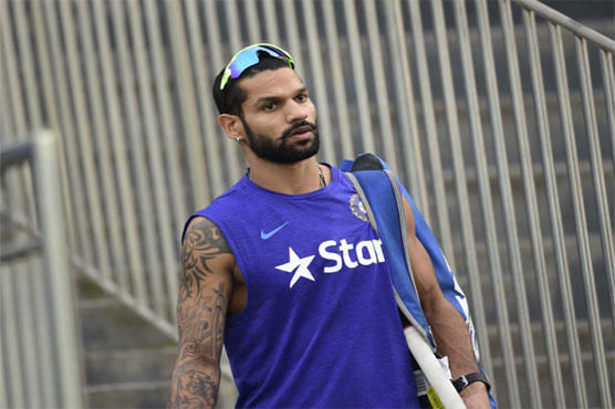 Shikhar Dhawan to miss first three ODI's against Australia starting Sept 17
