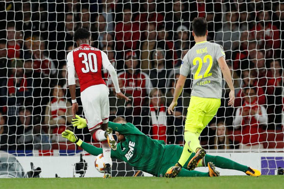 Arsenal came from behind to beat Cologne 3-1 in a Europa League clash on Thursday