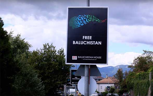 Pakistan strongly protests with Swiss govt over 'Free Balochistan' posters in Switzerland
