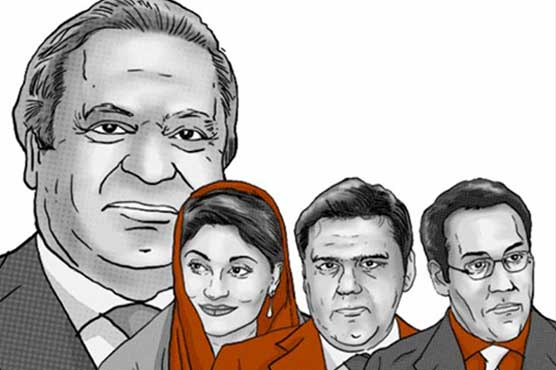 Image result for Sharif family fails to appear in accountability court, summons reissued for September 26