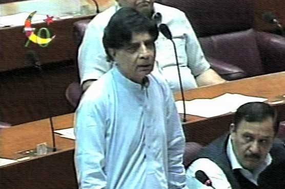 He expressed these views during NA session