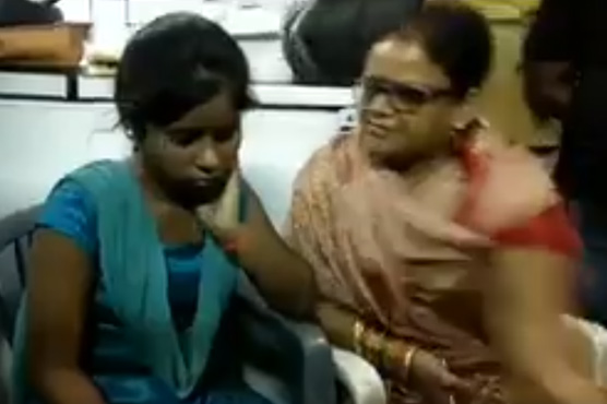 BJP women leader tortures Hindu girl over affair with a Muslim
