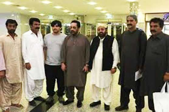 Ghazain Marri ends 18-year exile, arrested on arrival in Quetta