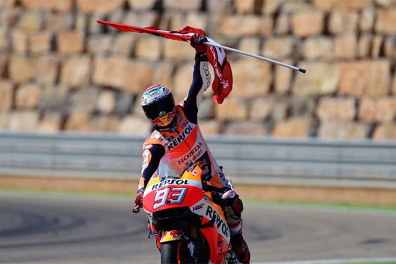 Valentino Rossi fifth in Aragon MotoGP won by Marc Marquez